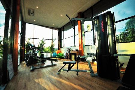 gym The Senses Pool Villas
