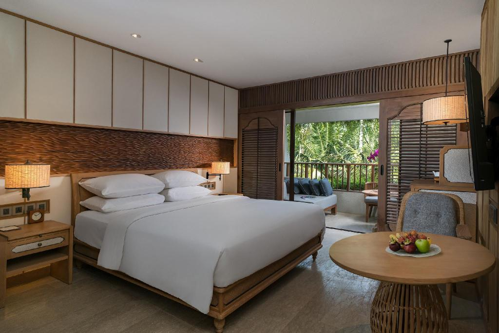 1 King Deluxe with Ocean View - Ležišče Hyatt Regency Bali