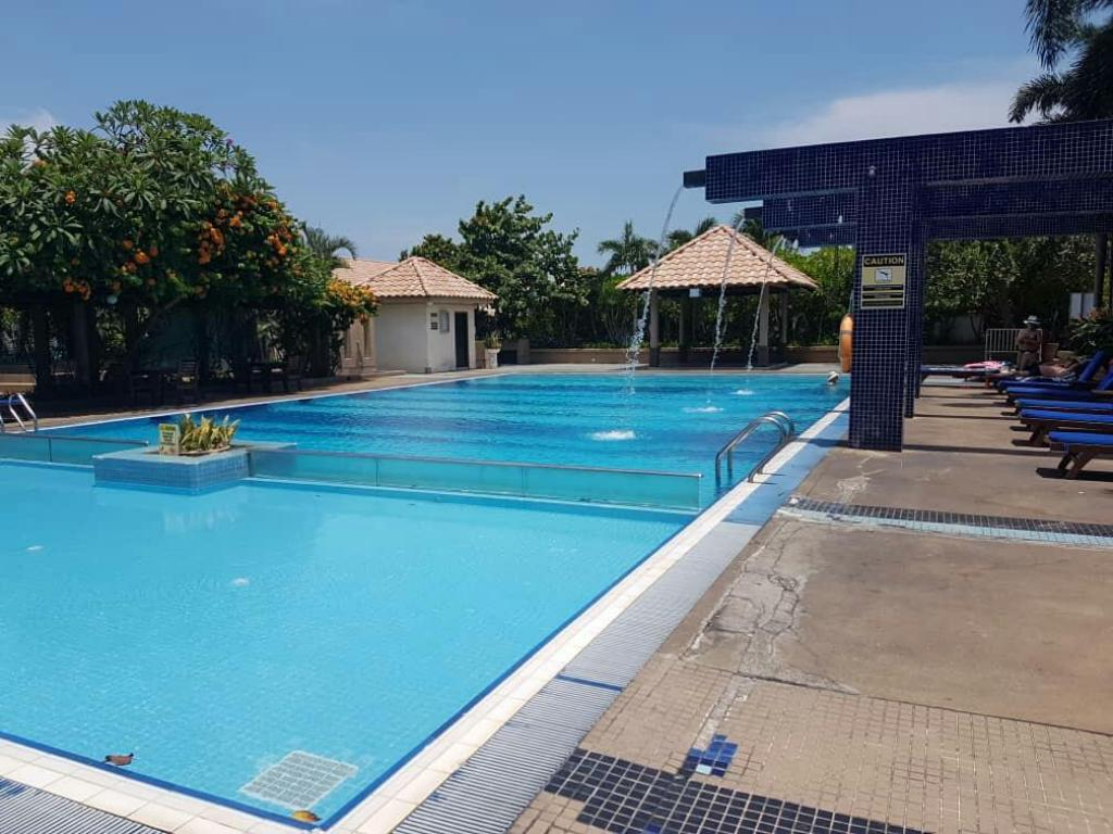 Swimming pool [outdoor] Crystal Private Water Chalet Port Dickson