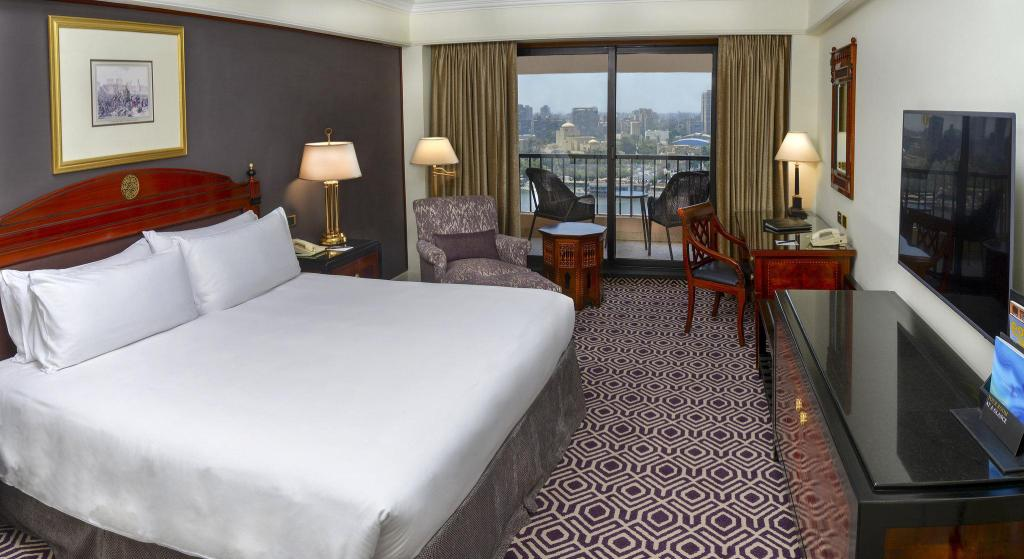 1 King Bed Executive Suite Nile View InterContinental Cairo Semiramis