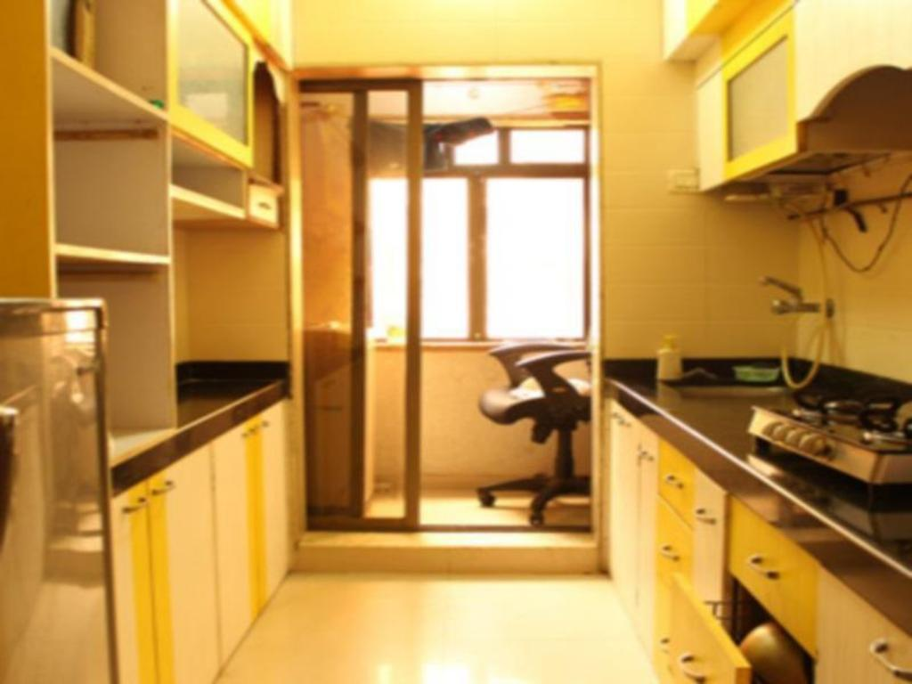 kitchen Standard Vista Service Apartment-Powai