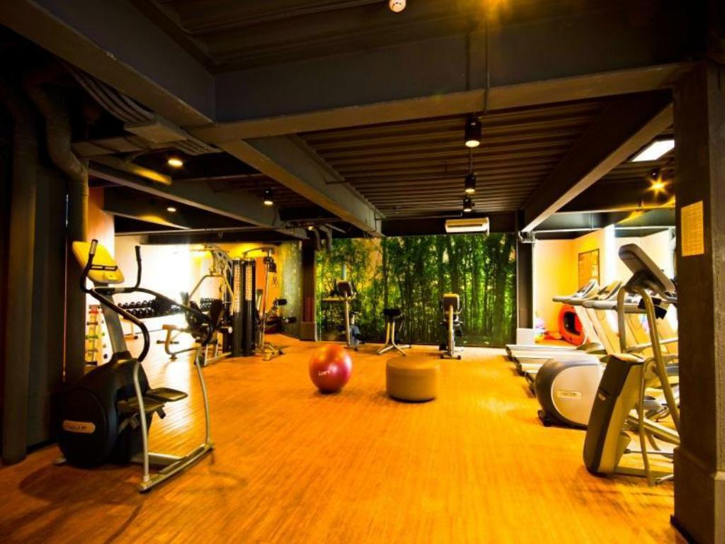 gimnasio Mallberry Suites Business Hotel