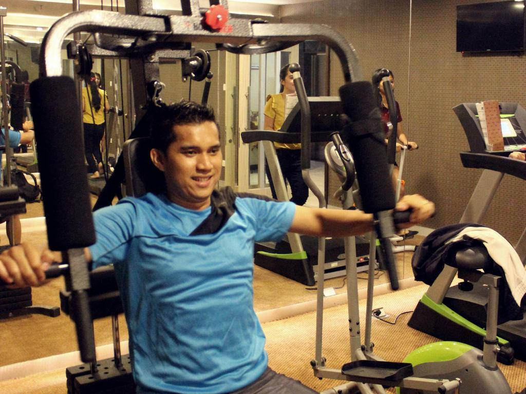 Fitness center Biz Hotel Batam