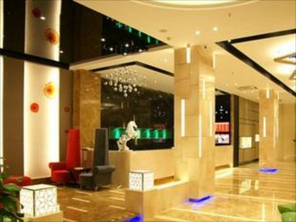 Interior view Milan Fashion Hotel Baoan Gang Long Cheng Branch