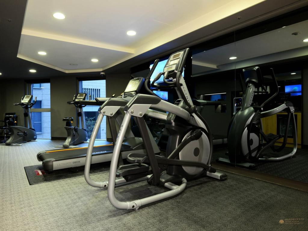 Fitness center Madison Taipei Hotel