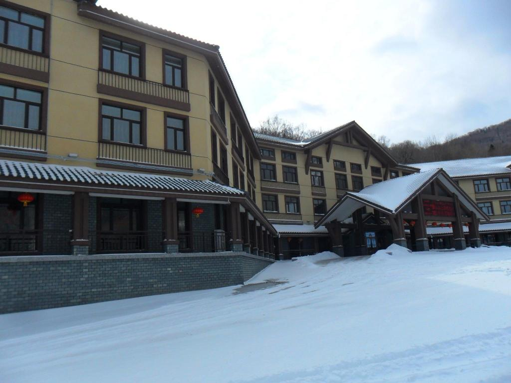 Zunanjost Yabuli National Alpine Building Training Base Hotel
