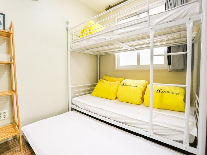 Bunk Triple Room