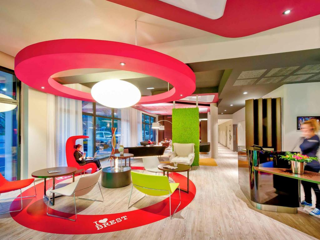 Interior view ibis Styles Brest Centre Port