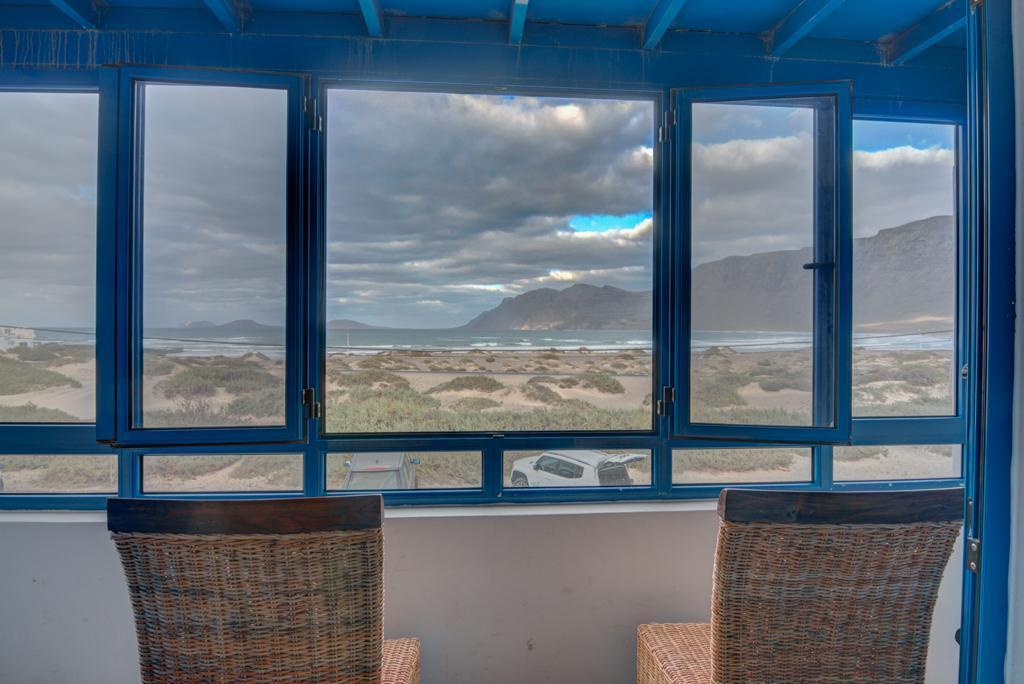 Double Room with Sea View - View from inside Red Star Surf & Yoga Camp