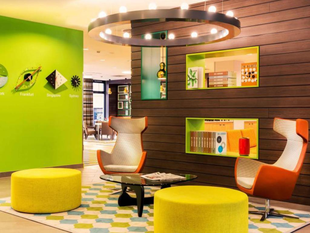 Lobby Citadines City Centre Frankfurt