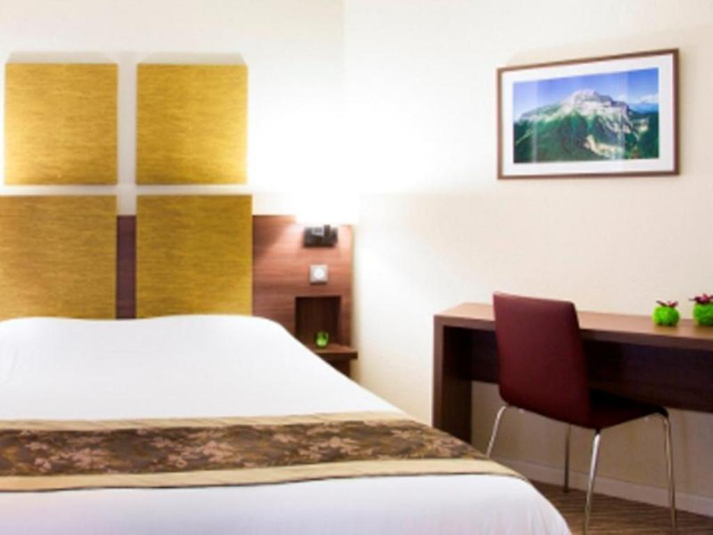 Single Room - Bed Kyriad Chambery Centre - Curial