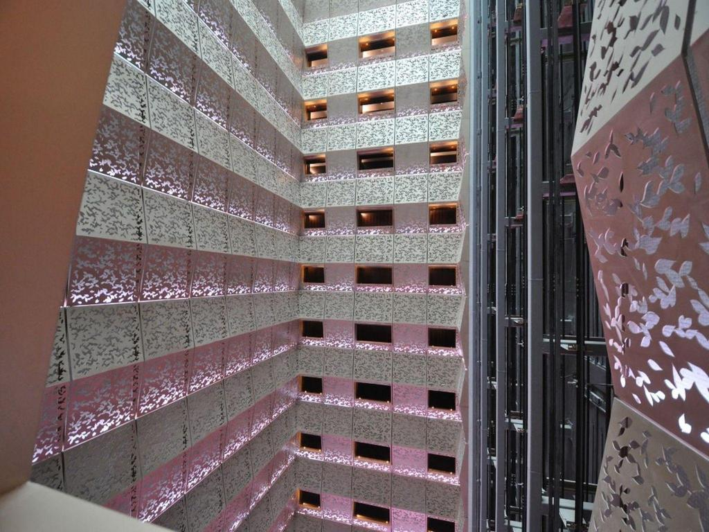Interior view Fairmont Hotel Nanjing