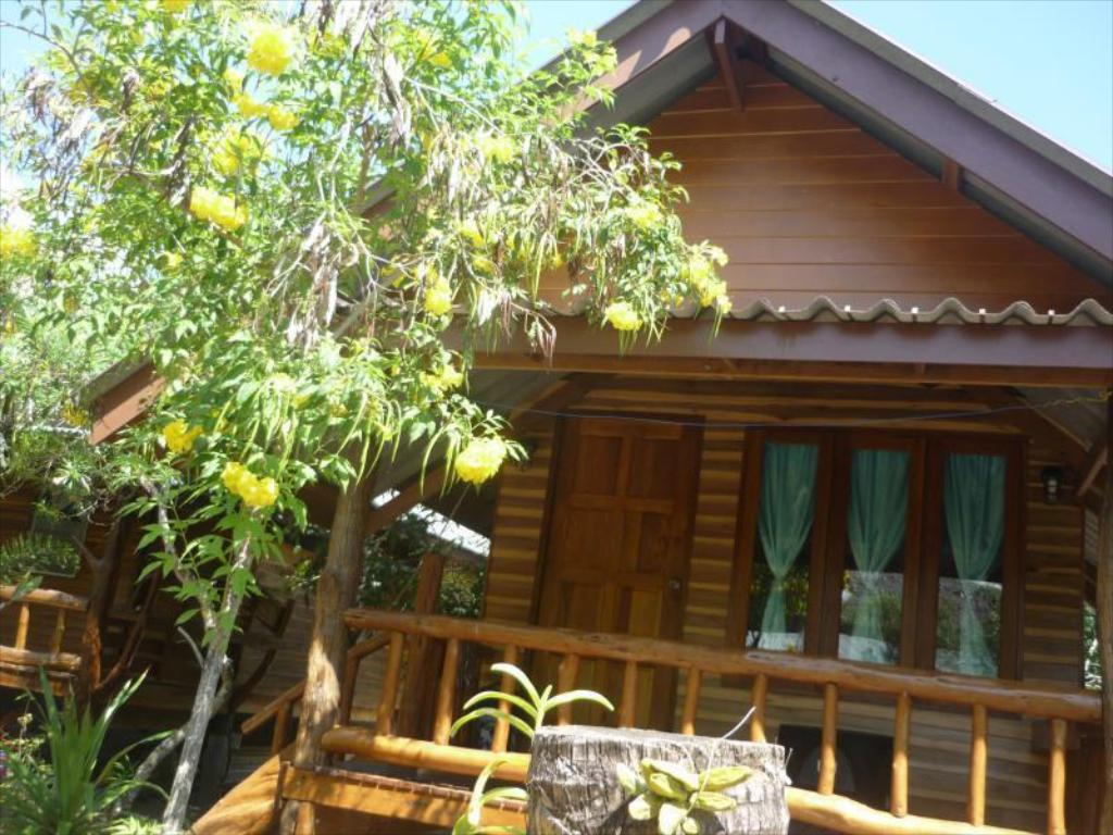 Standard Bungalow mit Ventilator Pasai Beach Lodge