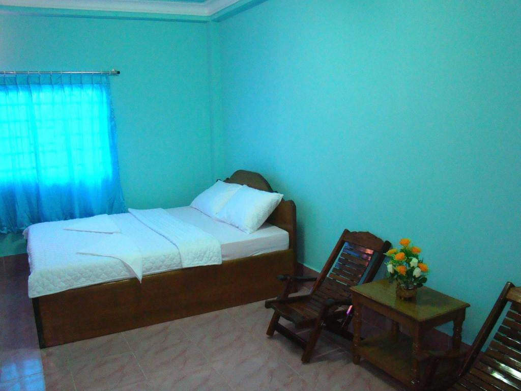 Double Air Conditioning - Bed Sunrise Siem Reap Guesthouse