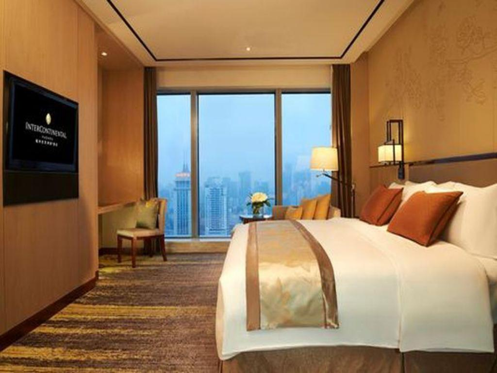 Intercontinental Superior Room - 침대 인터컨티넨탈 푸저우 (InterContinental Fuzhou)