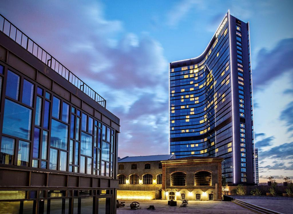Exterior view Hilton Istanbul Bomonti Hotel and Conference Center