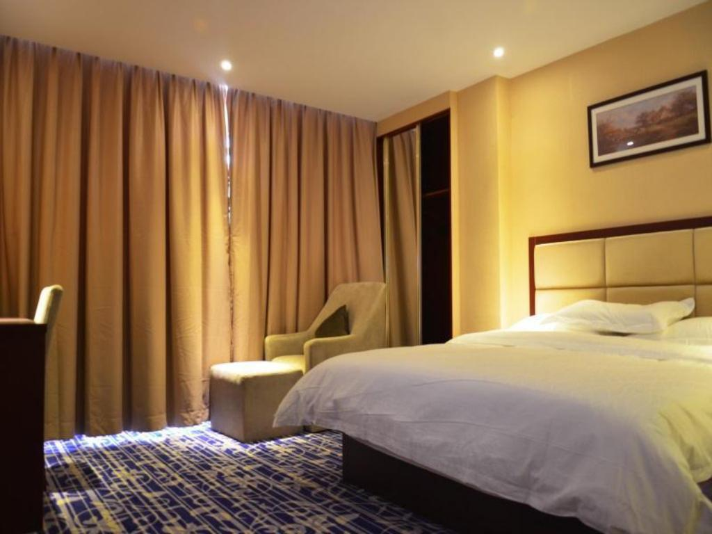 Business King Bed - Bed Shenzhen Octagon Inn-Shajing Jingjibaina