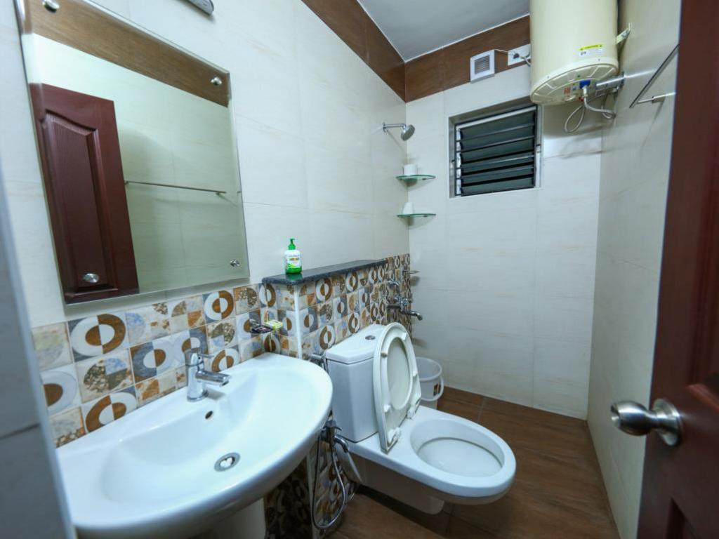 Hotellet indefra Gem Parc Luxury Service Apartment at Nungabakkam