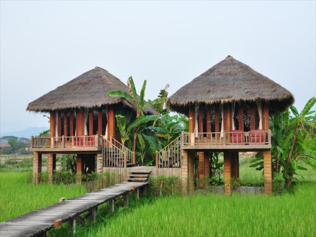 Villa with Paddy Field view - Exterior view