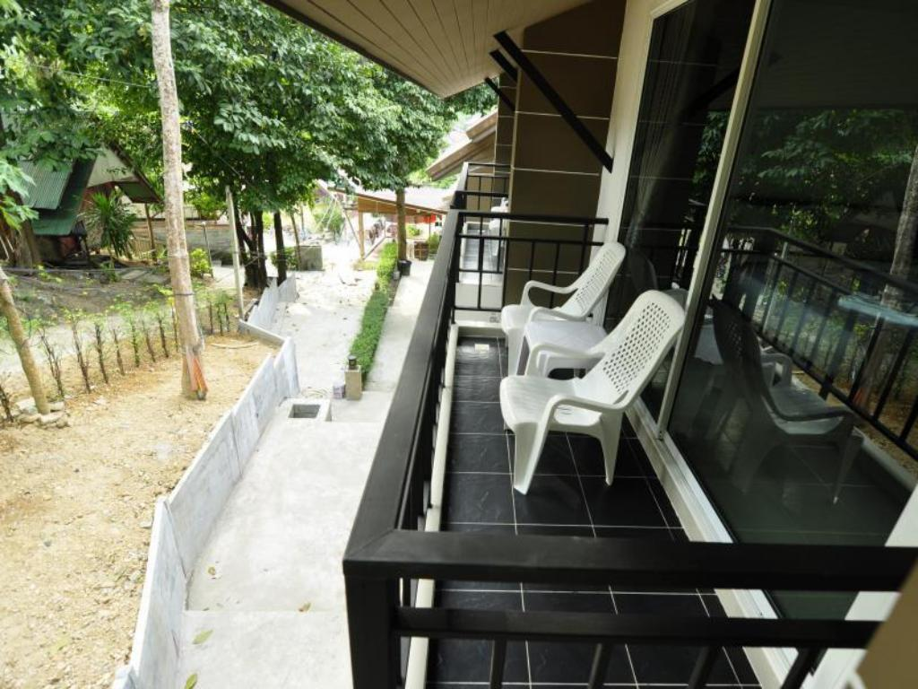 Balkon/terasa Phi Phi Mountain View Resort