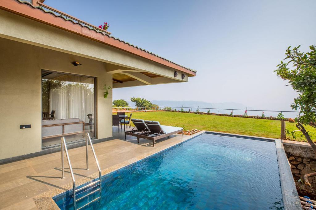 Advait, Luxurious 4bedroom bungalow, stunning view