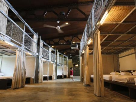 Interior view BB Bunkers Hostel