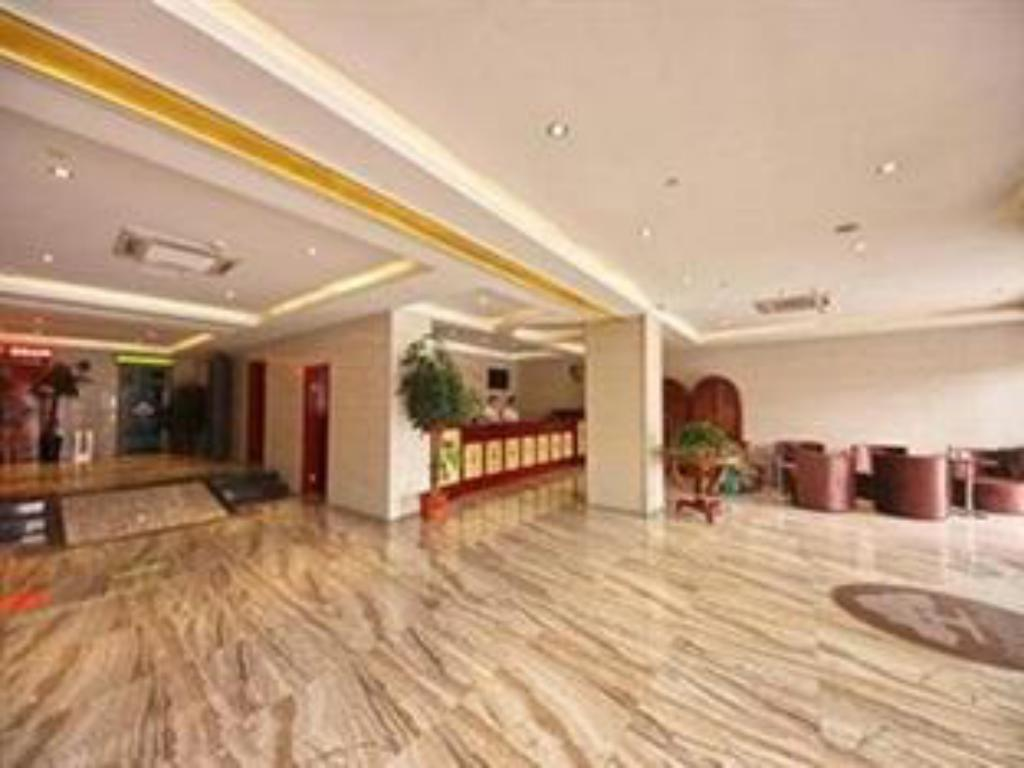 Reception Greentree Inn Hefei Mengcheng Road Beierhuan Express Hotel