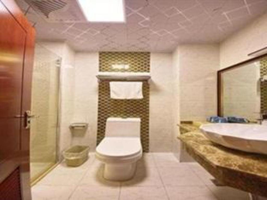 Bathroom Greentree Inn Hefei Mengcheng Road Beierhuan Express Hotel