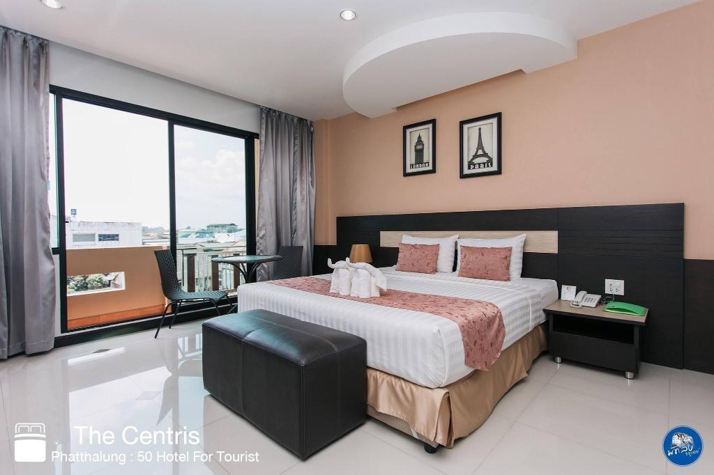 Deluxe Double Bed - Guestroom The Centris Hotel Phatthalung