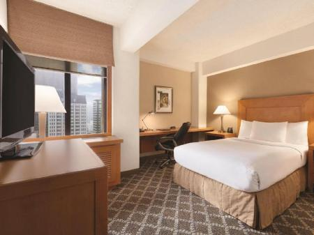 1 Double Bed - Bed Hilton San Francisco Financial District