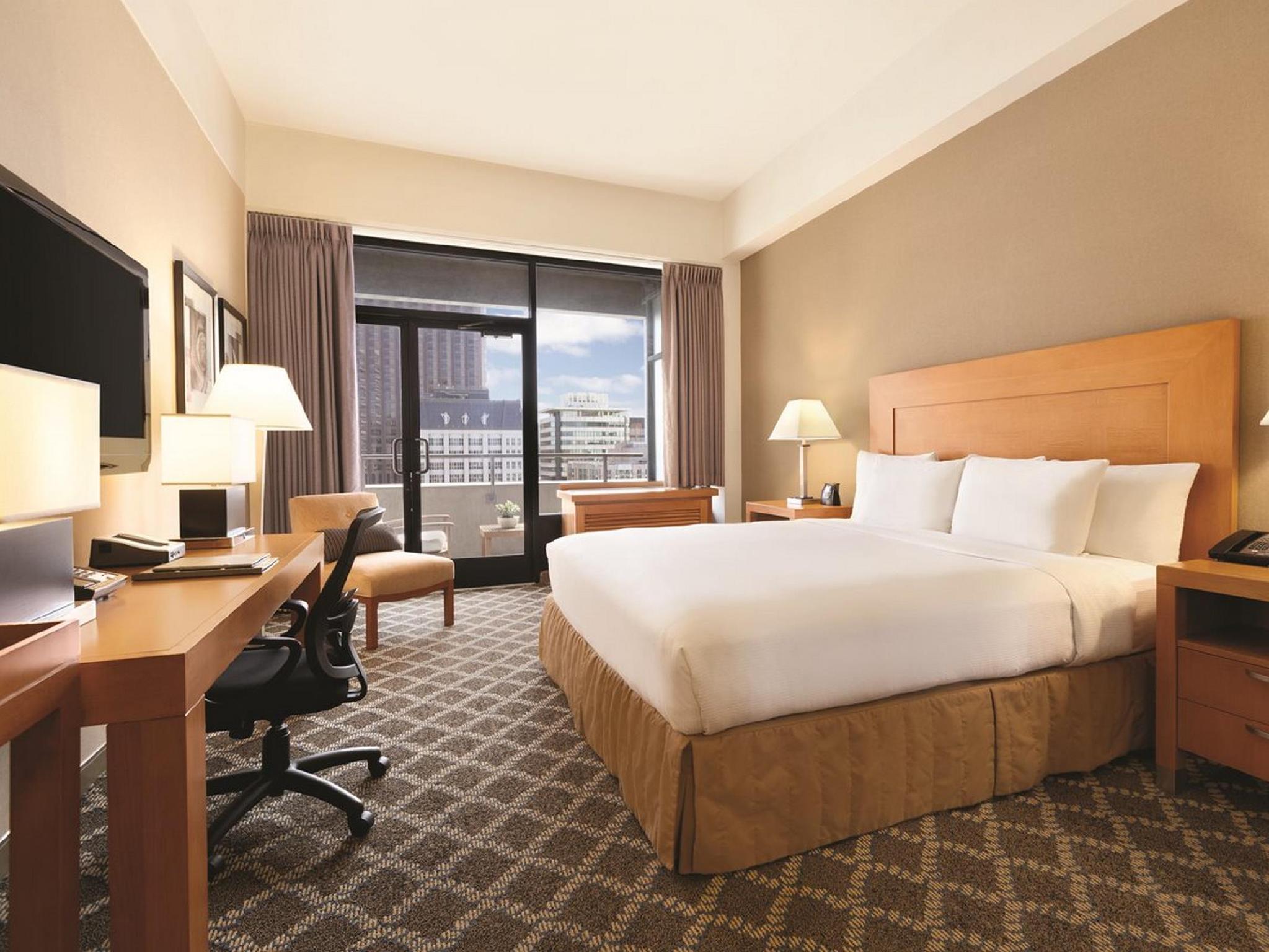 Hilton Hotel Union Squate King Bed Non Smoking