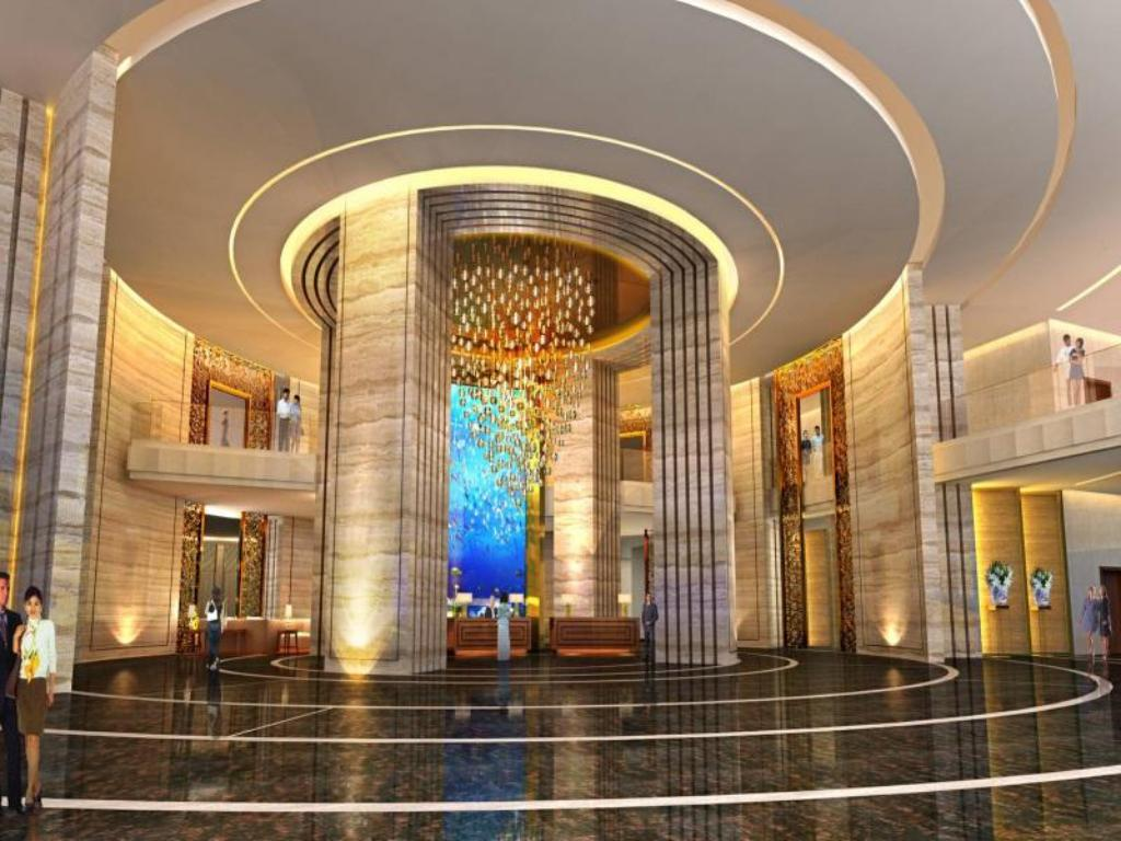 Interior view Crowne Plaza Shanghai Noah Square