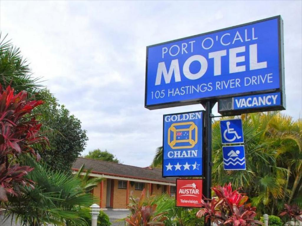 best price on golden chain port o call motel in port. Black Bedroom Furniture Sets. Home Design Ideas