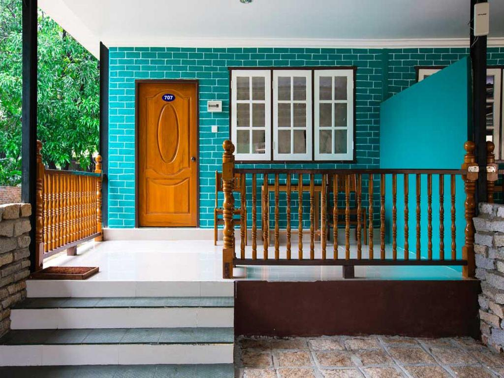 Balcony/terrace Sane Let Tin Resort