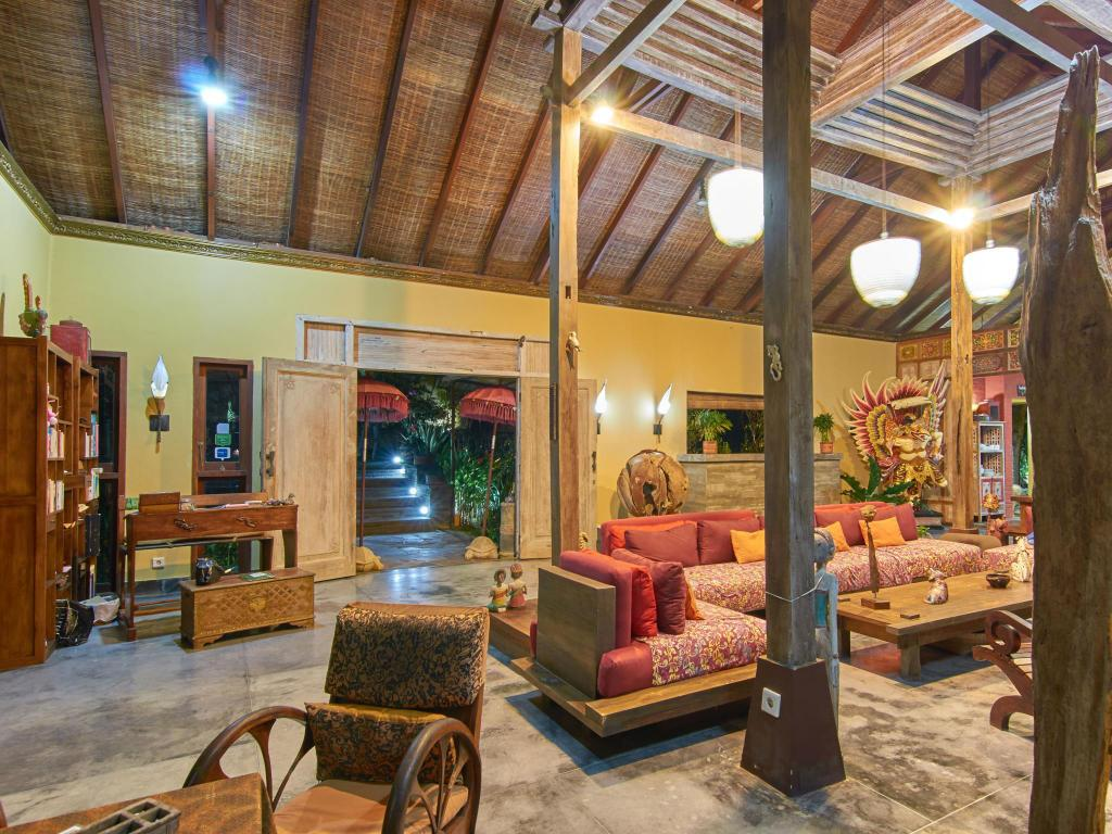 Interior view Villa Nusa In Nusa Dua
