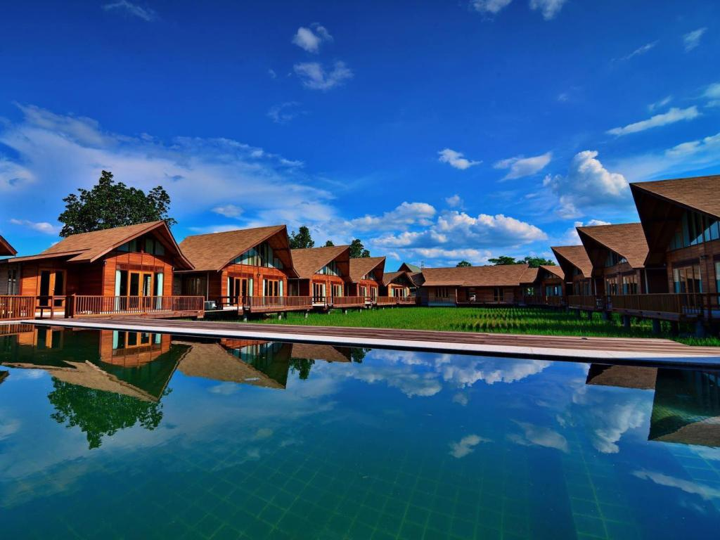 Swimming pool Rice Farm Villa