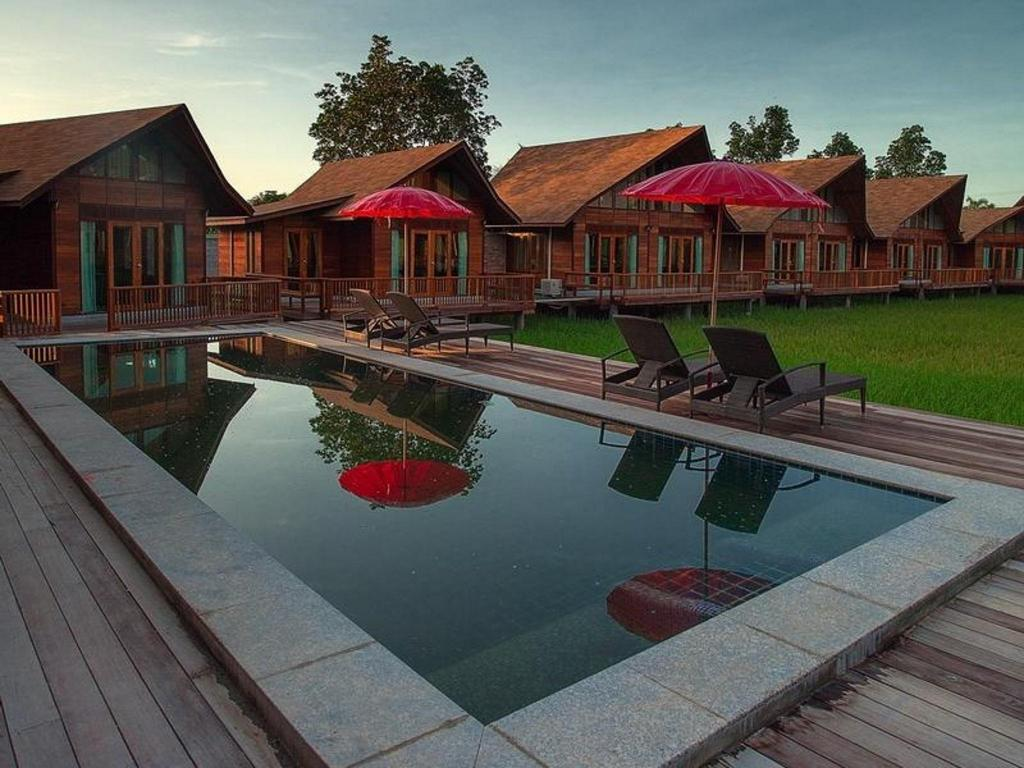 Swimming pool [outdoor] Rice Farm Villa