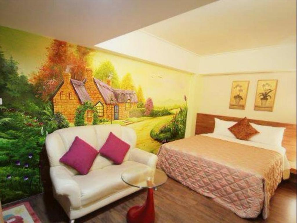 Double - Guestroom Bashi Channel Vacation B & B