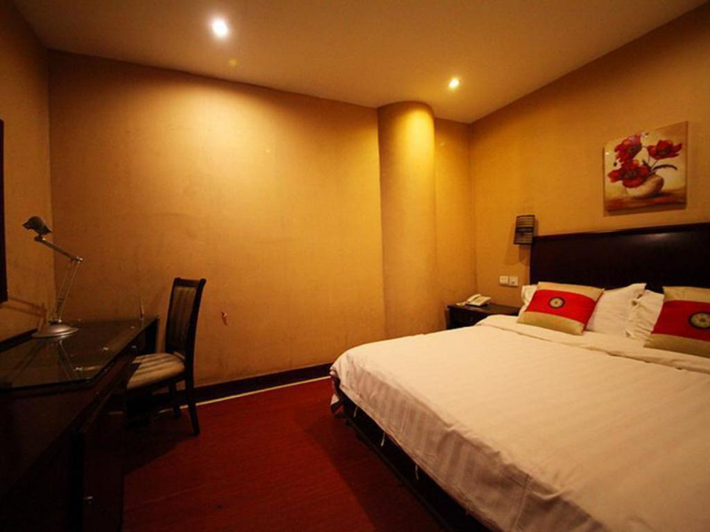 Hot Deal Single Bed - Guestroom Suzhou City Business Hotel