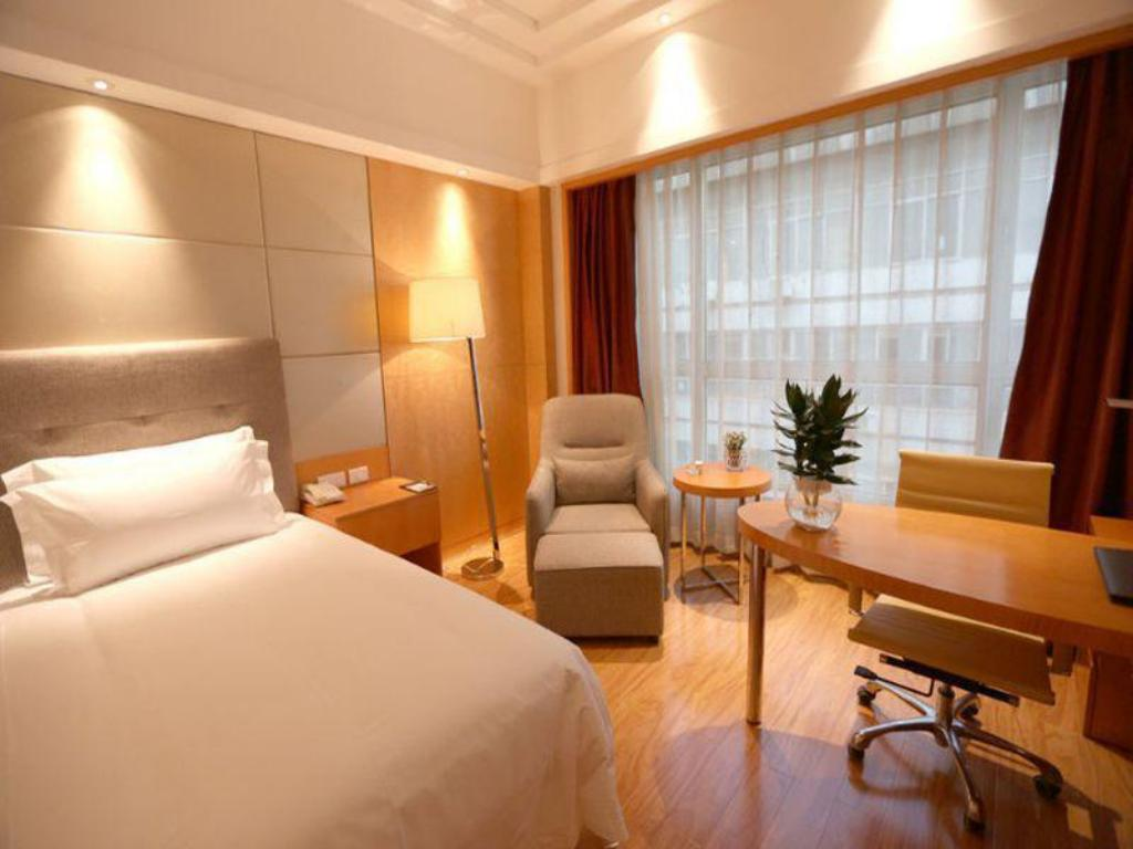King Bed - Guestroom Xian Melody Hotel Xinmei Branch