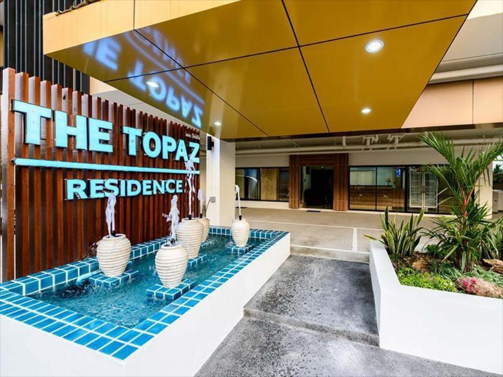 Exterior view The Topaz Residence