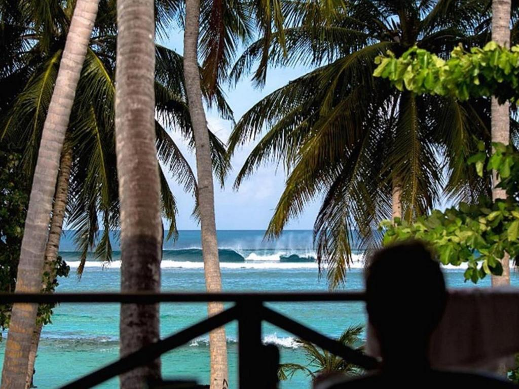 Vista exterior Thulusdhoo Surf Camp