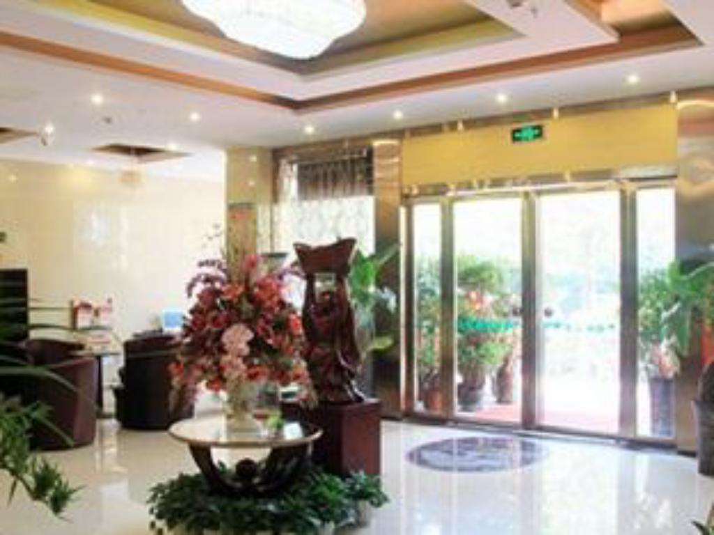 vhod Greentree Inn Hefei Changfeng Road Yuanyi Meibang International Residential Community Express Hotel