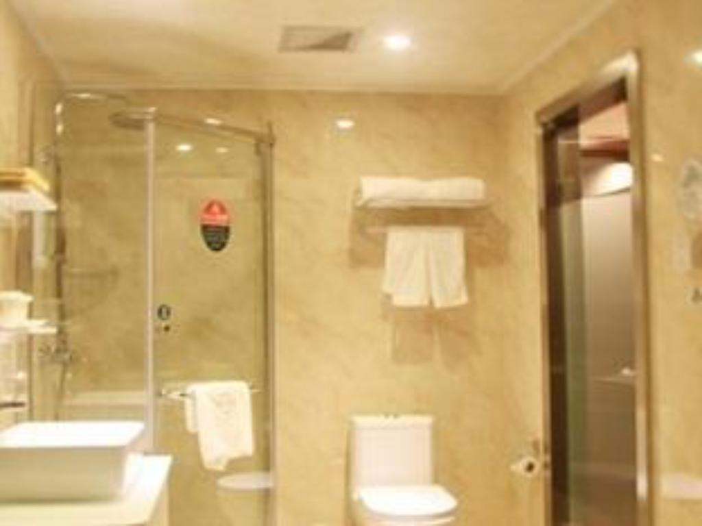 kopalnica Greentree Inn Hefei Changfeng Road Yuanyi Meibang International Residential Community Express Hotel