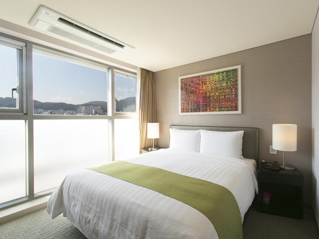 Deluxe Double Bed - Bed Hotel Aventree Busan