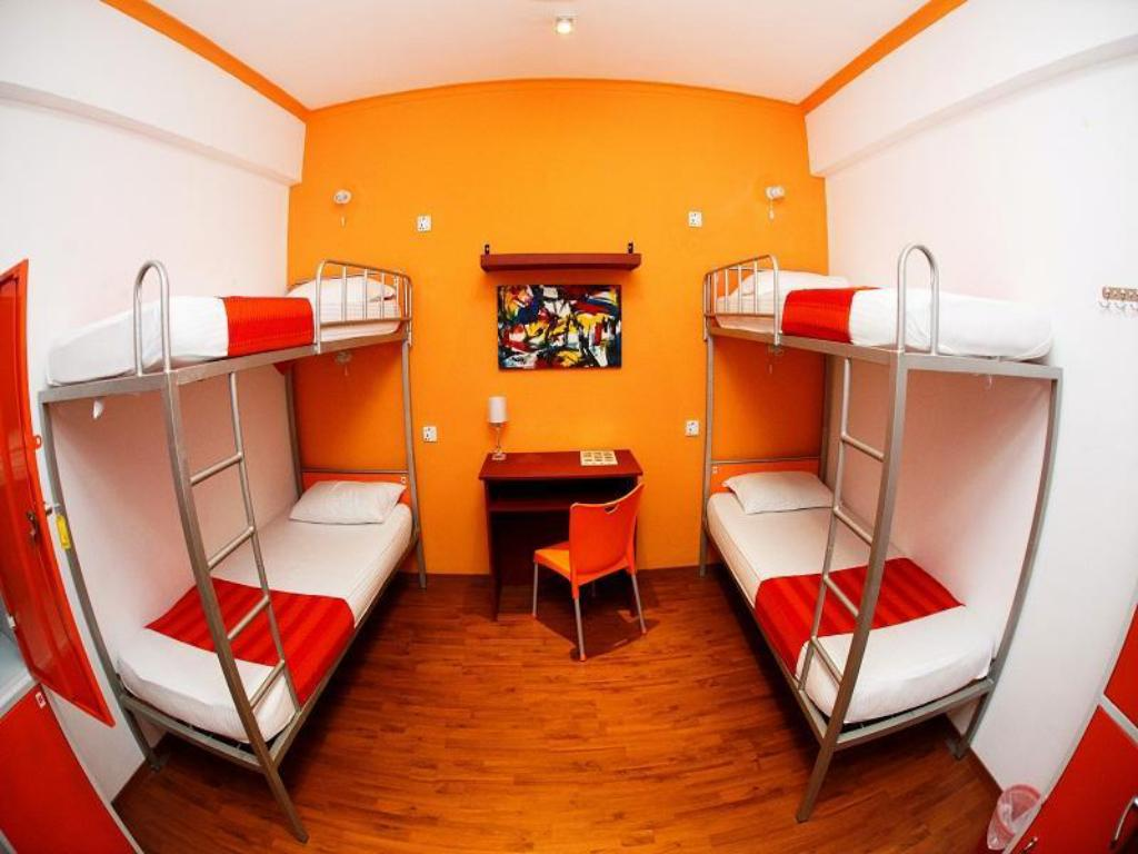 1 Person in 4-Bed Dormitory - Male Only - Guestroom CityRest Fort