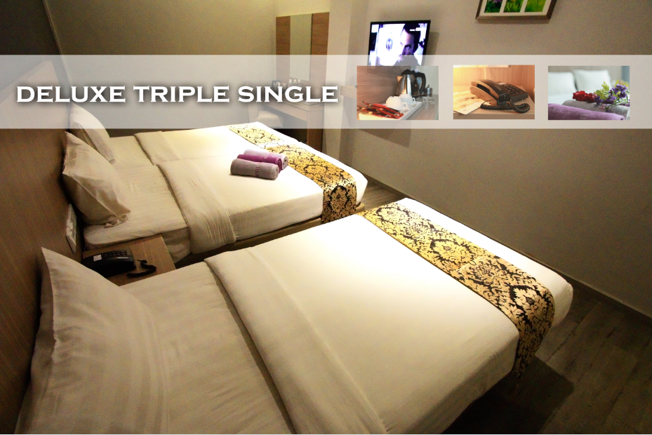 Katil Triple Deluxe (Deluxe Triple Bed)