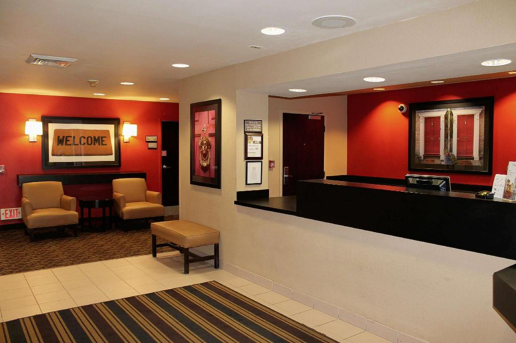 Lobby Extended Stay America Houston  Greenway Plaza