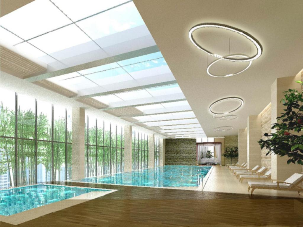 Swimming pool Crowne Plaza Yangzhou