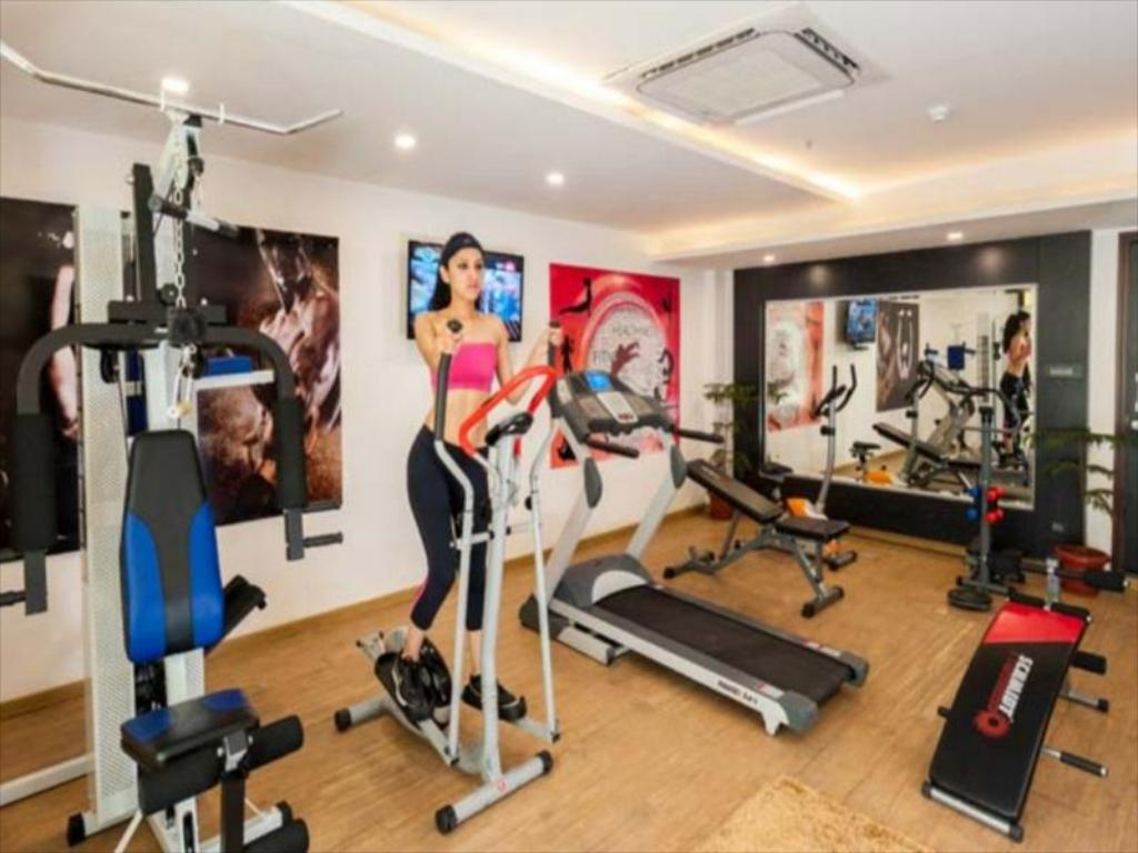 Fitness center Hotel Turquoise Chandigarh